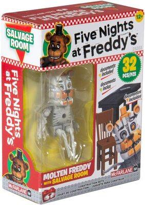 Комната Спасения - конструктор пять ночей с Фредди 32 дет. (McFarlane Toys Five Nights at Freddy's Salvage Room Micro Construction Set) (фото)