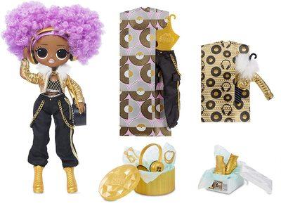 Кукла ЛОЛ Сюрприз О.М.G. Стильная 24K Ди Джей с 20 сюрпризами (LOL Surprise OMG 24K D.J. Fashion Doll with 20 Surprises) (фото)