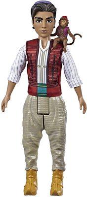 Кукла Аладдин с фигуркой обезьяны Абу - «Аладдин» - Дисней (Disney Aladdin Fashion Doll with Abu) (фото)