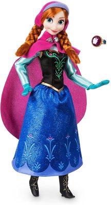 Кукла Анна с кольцом - «Холодное сердце 2» - Дисней (Disney Anna Classic Doll with Ring - Frozen) (фото)