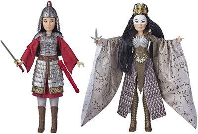 Набор кукол Мулан и Сяньнян - «Мулан» - Дисней (Disney Mulan and Xianniang Dolls with Helmet) (фото)