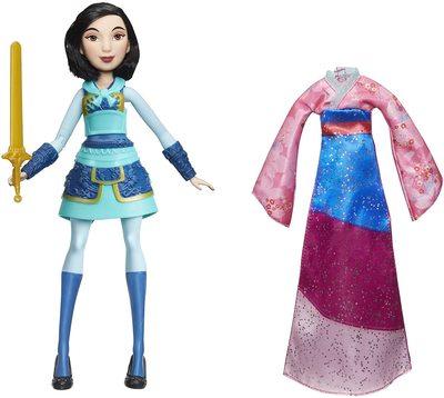 Кукла Мулан с мечом Делюкс - «Мулан» - Дисней (Disney Princess Fearless Adventures Mulan) (фото)