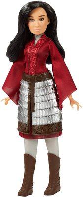 Кукла Мулан модельная в юбке-броне и с аксессуарами - «Мулан» - Дисней (Disney Mulan Fashion Doll) (фото)