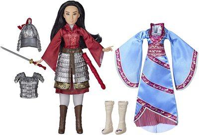 Кукла Мулан с двумя комплектами одежды и аксессуарами - «Мулан» - Дисней (Disney Mulan Two Reflections Set, Fashion Doll with 2 Outfits and Accessories) (фото)
