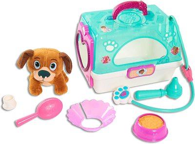 Игровой набор Переноска с собачкой - «Доктор Плюшева» - Дисней (Doc McStuffins Toy Hospital On-The-Go Pet Carrier, Findo) (фото)
