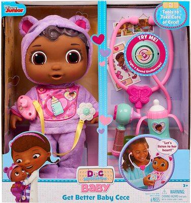 Игровой набор «Выздоравливай, малышка СиСи» - «Доктор Плюшева» - Дисней (Doc McStuffins Disney Junior Get Better Baby Cece) (фото)