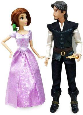 Набор: куклы Рапунцель и Юджин (Флин) - Рапунцель - Дисней (Rapunzel and Flynn Classic Doll Set) (фото)