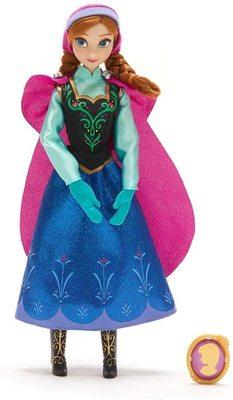 Кукла Анна с подвеской - «Холодное сердце 2» - Дисней (Anna Classic Doll with Pendant – Frozen) (фото)