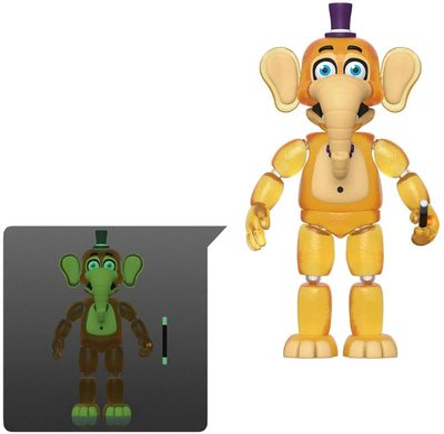 Слон Орвилл - Симулятор Пиццы (светится в темноте) (Funko Action Figures: Five Nights at Freddy's Pizza Simulator - Orville Elephant) (фото)