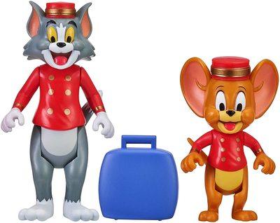 Фигурки Тома и Джерри в наборе «Отель Bellhops» - «Том и Джерри» - Дисней (Tom & Jerry Figure 2-Packs: Hotel Bellhops) (фото)