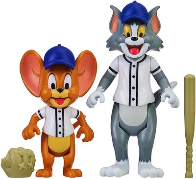 Фигурки Том и Джерри в наборе «Бейсбол» - «Том и Джерри» - Дисней (Tom & Jerry Figure 2-Packs: Play Ball) (фото)