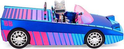 Набор кукла ЛОЛ Дэнсбот в кабриолете для танцев. (LOL Surprise Dance Machine Car with Exclusive Doll, Surprise Pool, Dance Floor and Magic Black Light) (фото)