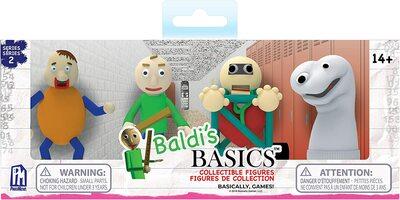 Набор из 4 фигурок Балди Басикс - 2 серия (Baldi's Basics Figure Pack) (фото)