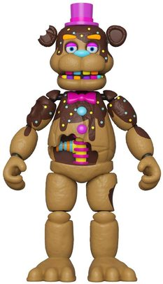 Шоколадный Фредди (Funko Action Figure: Five Nights at Freddy's- Chocolate Freddy) (фото)