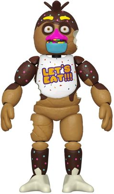 Шоколадная Чика (Funko Action Figure: Five Nights at Freddy's- Chocolate Chica) (фото)