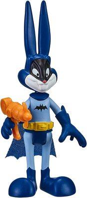 Багз Банни (Бэтмен) из серии «Космический джэм - Новое Наследие». (SPACE JAM: A New Legacy - Baller Action Figure - Bugs Bunny (Batman)) (фото)