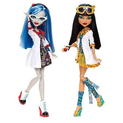 Гулия Йелпс и Клео де Нил - Сумасшедшая наука (Ghoulia Yelps and Cleo de Nile - Mad Science) (фото)