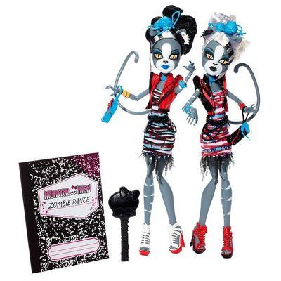Мяулоди и Пурсефона - Зомби танец (Meowlody and Purrsephone - Zombie Shake) (фото)
