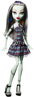 Фрэнки Штейн - Страшно огромные монстры (Frankie Stein: frightfully tall ghouls) (фото)