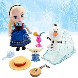 Малышка Эльза - Холодное сердце (13см.) (Disney Frozen Animators' Collection Elsa Mini Doll)
