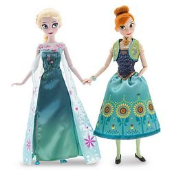 Анна и Эльза - Холодное Сердце (Disney Frozen Royal Sisters Doll Anna and Elsa, Princess.)