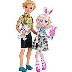 """Алистер Вандерленд и Банни Бланк - набор """"Карнавал"""" (Carnival Date Doll 2-Pack - Bunny Blanc and Alistair Wonderland)"""