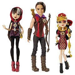 Хантер Хантсмэн, Лиззи Хартс и Сериз Худ - набор (3 Pack - Huntsman, Cerise Hood, and Lizzie Hearts Dolls)