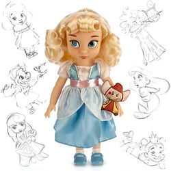 Золушка в детстве (40 см) (Disney Animators' Collection Princess Cinderella Toddler Doll)