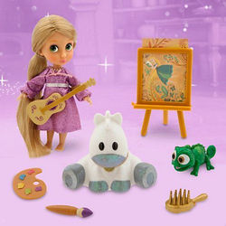 Малышка Рапунцель (13 см.) (Disney Animators' Collection Rapunzel Mini Doll)