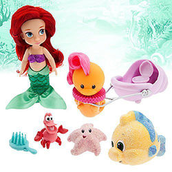 Малышка Ариель (13 см.) (Disney Animators' Collection Ariel Mini Doll)