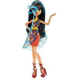 Клео де Нил - Добро пожаловать в Монстр Хай: Танцы с перепугу (Cleo De Nile - Monster High Welcome to Monster High Dance the Fright Away Doll with DVD)