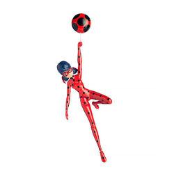 Чудесная Леди Баг - Прыгать и летать (с присоской) (Miraculous Jump and Fly Ladybug)