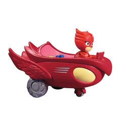 Алет и автомобиль (PJ Masks Owlette Flyer Vehicle)