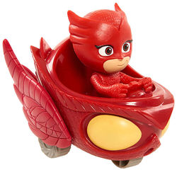 Алет и автомобиль - Mini (PJ Masks Wheelie Vehicle Owl Glider - Owlette)