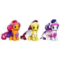 Набор Пони - Свадебный Цветок (My Little Pony Wedding Flower Fillies Set One Color)