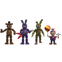 Набор Пять ночей у Фредди - 2 часть (Funko Five Nights at Freddy's 4 Figure Pack 2-Set)