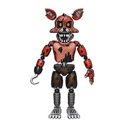 Фокси Кошмарный Лис - пират (Articulated Five Nights at Freddy's - Nightmare Foxy)