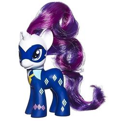 Пони Рарити - могучие пони (My Little Pony Friendship is Magic Power Ponies Radiance Brillance Radiante Rarity Exclusive)