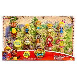 Сказка лесных Друзей - Голди и Мишка - набор (Disney Junior Goldie and Bear)