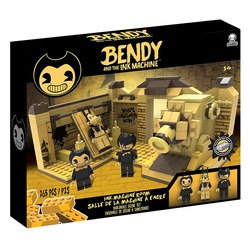 Конструктор Бенди и чернильная машина: Сценическая комната (265 деталей) (Bendy and the Ink Machine - Room Scene (265 pieces))