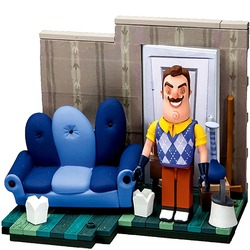 Конструктор Привет Сосед - Гостиная (McFarlane Toys Hello Neighbor The Living Room Small Construction)