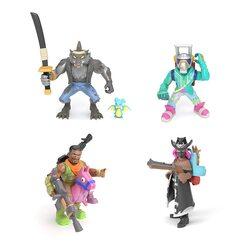 Коллекция Королевской битвы Фортнайт: набор из 4 фигурок (Эм Си Лама, Тёмный рейнджер, Оборотень и Наездник) (Fortnite Battle Royale Collection: Squad Pack - DJ Yonder, Calamity, Dire & Giddy-Up)