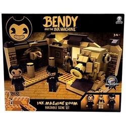 Конструктор Бенди и чернильная машина: Сценическая комната (259 штук) (Basic Fun Bendy & The Ink Machine - Room Scene (259Piece))