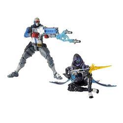 Солдат-76 и Ана Амари - Набор фигурок Overwatch (Hasbro Overwatch Ultimates Series Soldier: 76 & Shrike (Ana) Skin Dual Pack Collectible Action Figures)