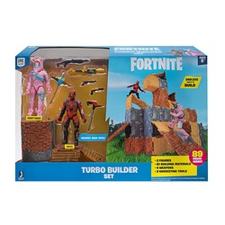 Конструктор Фортнайт - Turbo Builder - Опасный кролик и Вертекс (89 деталей) (Fortnite Turbo Builder Set 2 Figure Pack, Rabbit Raider & Vertex)