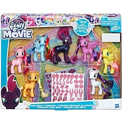 Коллекционный набор пони (Эксклюзив Cutie Mark) (My Little Pony The Movie Exclusive Cutie Mark Collection)
