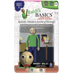 Фигурка Злой Балди из игры Балди Басикс (Baldi's Basics Action Figure (Angry Baldi))