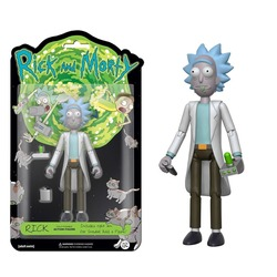 Фигурка Рик - Рик и Морти (Собери - Снафелс Снежок) (Funko Articulated Rick and Morty Rick Action Figure)