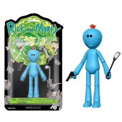 Фигурка Мистер Мисикс - Рик и Морти (Собери - Снафелс Снежок) (Funko Articulated Rick and Morty Meeseeks Action Figure)
