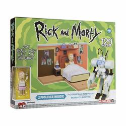 Зовите меня Снежком - Средний конструктор Рик и Морти (129 дет) (McFarlane Toys Rick & Morty You Shall Now Call Me Snowball Medium Construction Set)